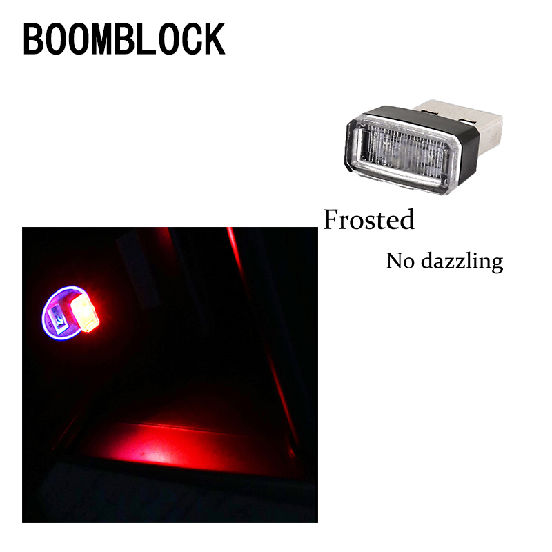 1pcs Car-Styling <font><b>USB</b></font> Atmosphere LED Light Car Accessories For Abarth <font><b>Fiat</b></font> <font><b>500</b></font> BMW E60 E36 E34 Mercedes Benz W204 Volvo XC90 V70 image