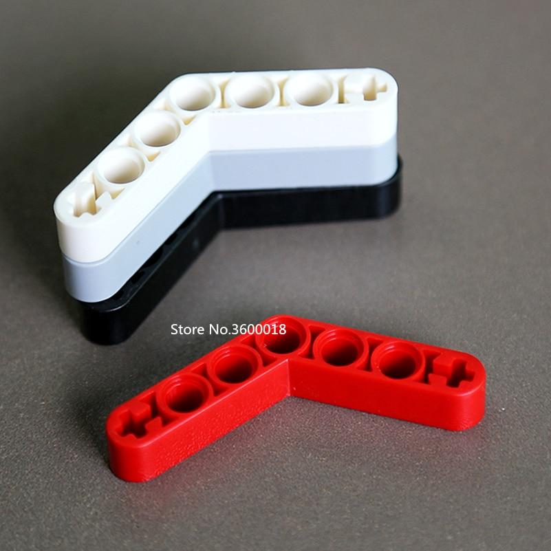 10PCS/lot Liftarm Decool Technic Parts 1x7 4+3 Compatible With TECHNIC Legos 32348 MOC DIY Blocks Brick Set