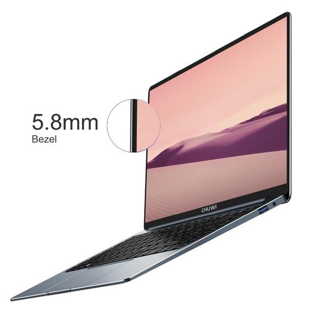 CHUWI LapBook Pro 14 Cal wąska ramka ekran FHD Laptop Windows10 czterordzeniowy intel Gemini-Lake N4100 8GB RAM 256GB SSD Notebook