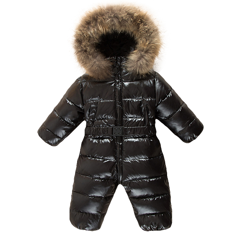 Russia winter baby clothing ,6-24M baby girl jumpsuits winter coats snow wear duck down jacket ,snowsuits for kids boys clothes baby snowsuits jumpsuit russia winter clothing warm coats snow wear down jacket for boys girls kids clothes infantil rompers