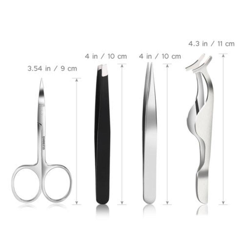 maquiagem ferramentas cilios posticos clip removedor cabelo 05