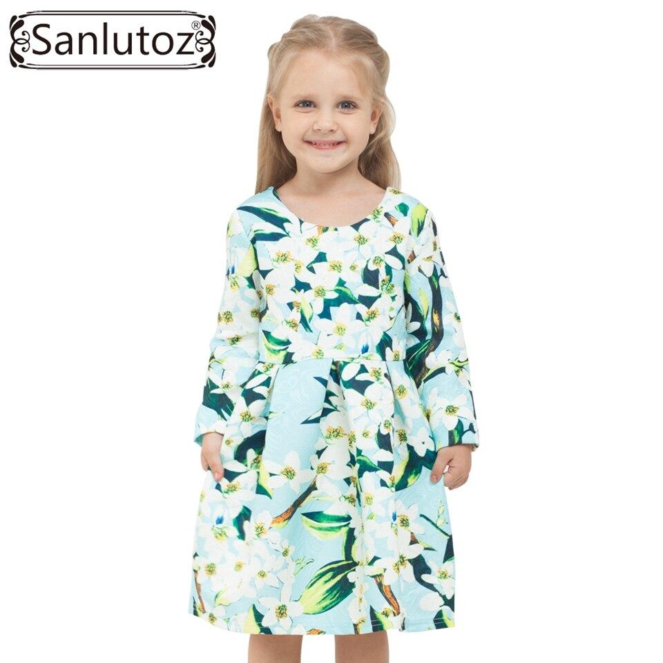 Blume Mädchen Kleid Winter 2016 Mädchen Kinder Kleidung Marke ...