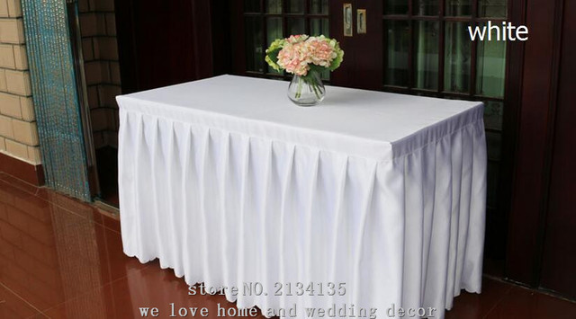 Customized wedding banquet hotel tablecloths meeting sign in a customized wedding banquet hotel tablecloths meeting sign in a buffet table skirt cover thickening satin table watchthetrailerfo