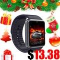 Gt08 smart watch notificador de sincronização suporte sim card conectividade bluetooth apple iphone telefone android smart watch