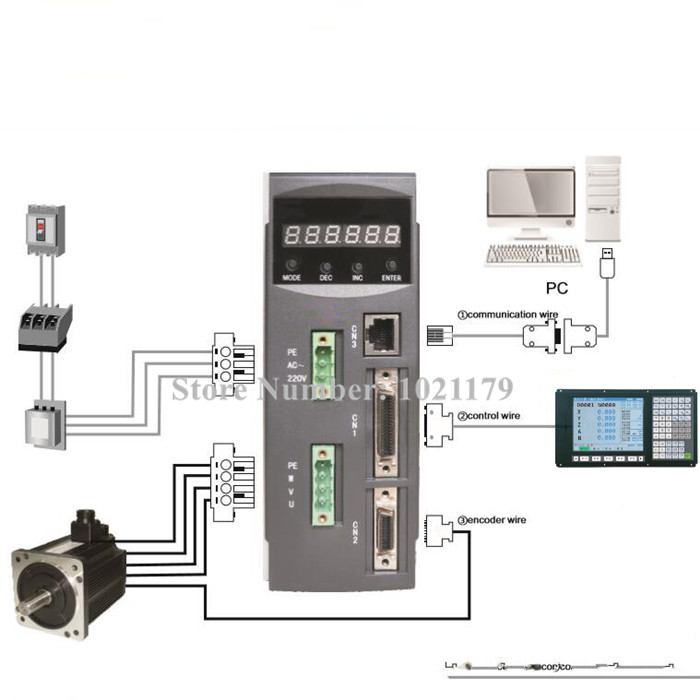 Fancy Ac Servo Motor Wiring Diagram Pictures - Electrical Diagram ...