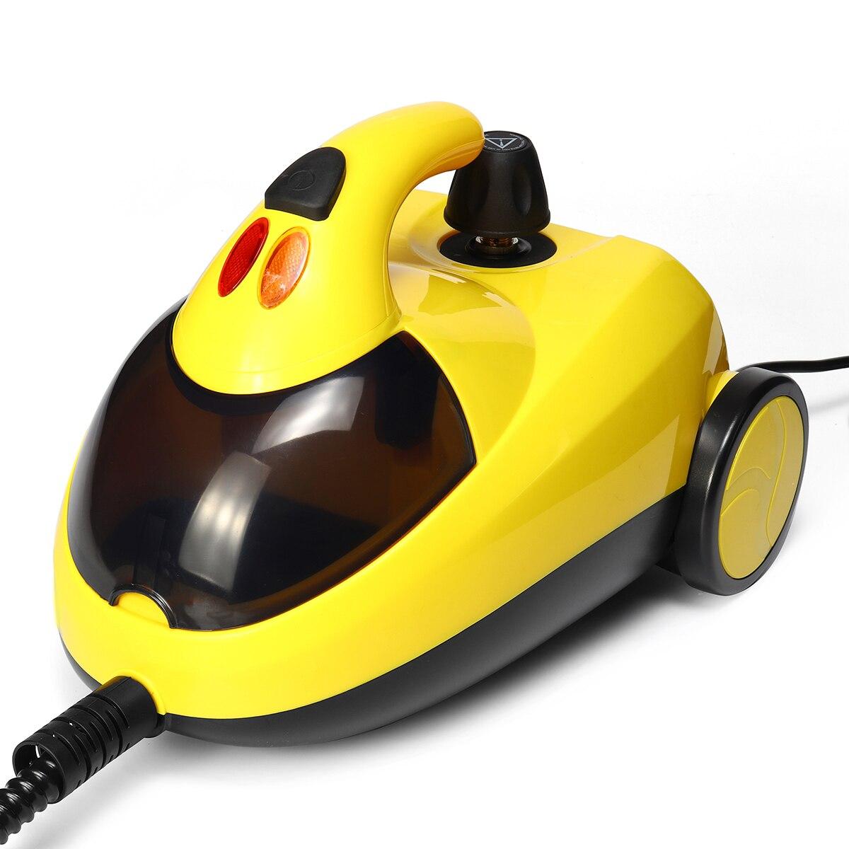 AMW Pratico Uso Domestico Magico di Pulizia del Pavimento Mop 360 Gradi di Rotolamento di Spin Auto Strizzare Fibra di Cotone Testa Mop Piano set di trasporto di Goccia - 5