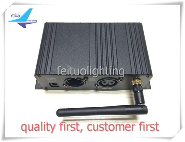 4/lot Wireless dmx receiver 2.4 g dmx transmitter