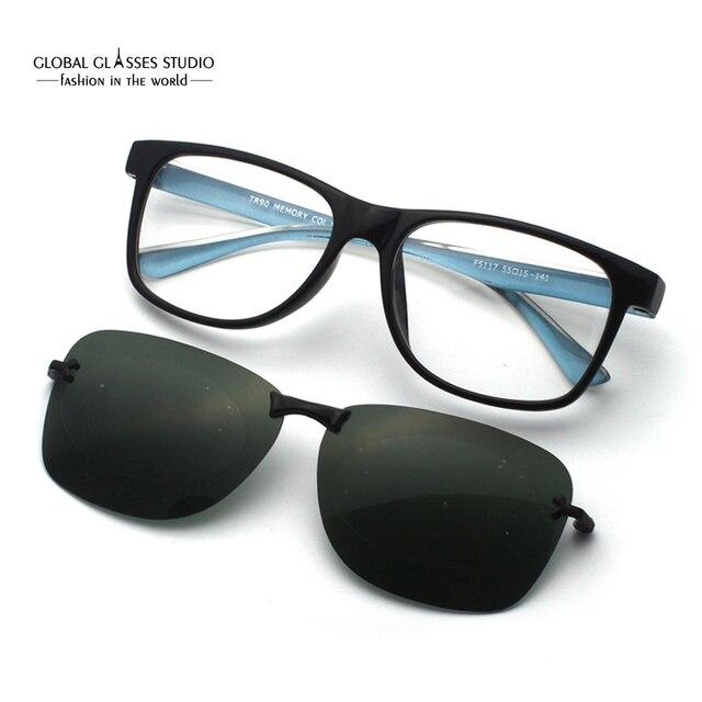 a2275fec863 Free Shipping Ultra Light Magnetic Polarized Sunglasses Clip Latest Design  Sunglasses Fashion glasses F5117