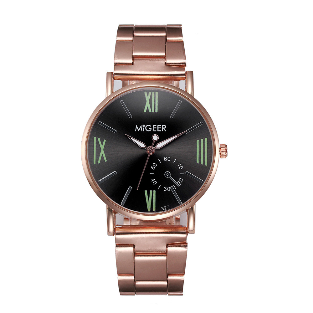 Luxury Rose Gold Women's Watches Stainless Steel Men's Watch Women Watches Fashion Watch Women Clock reloj mujer reloj hombre women dress watches 2017 top brand luxury watch rose gold high quality fashion watch reloj mujer stainless steel quartz watch