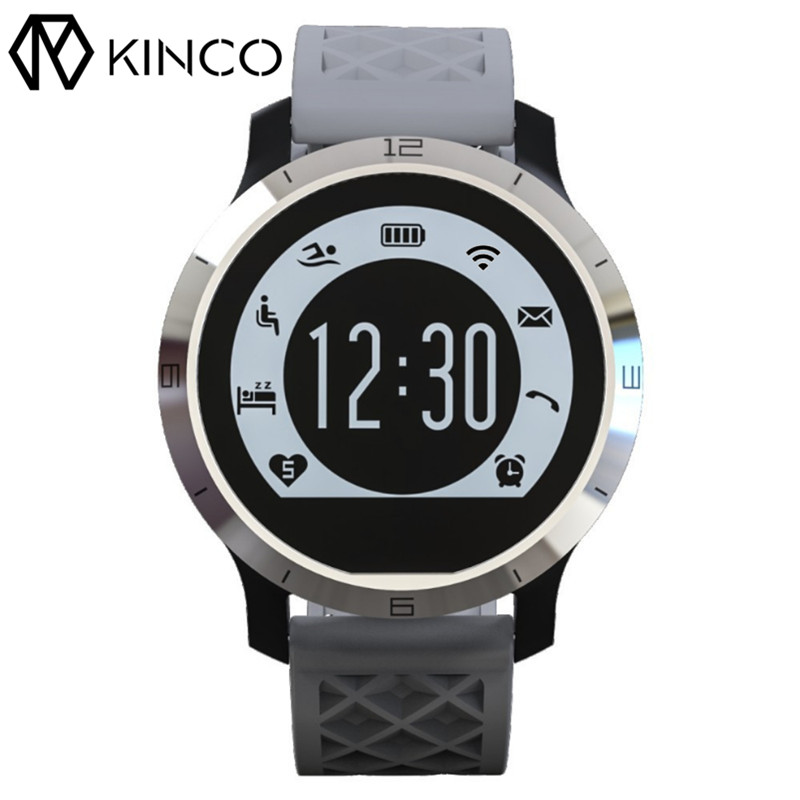 KINCO Bluetooth Waterproof Heart Rate Monitor Watch Pedometer Timing Sport Exercise Smart Bracelet Wristband for IOS/Android стоимость