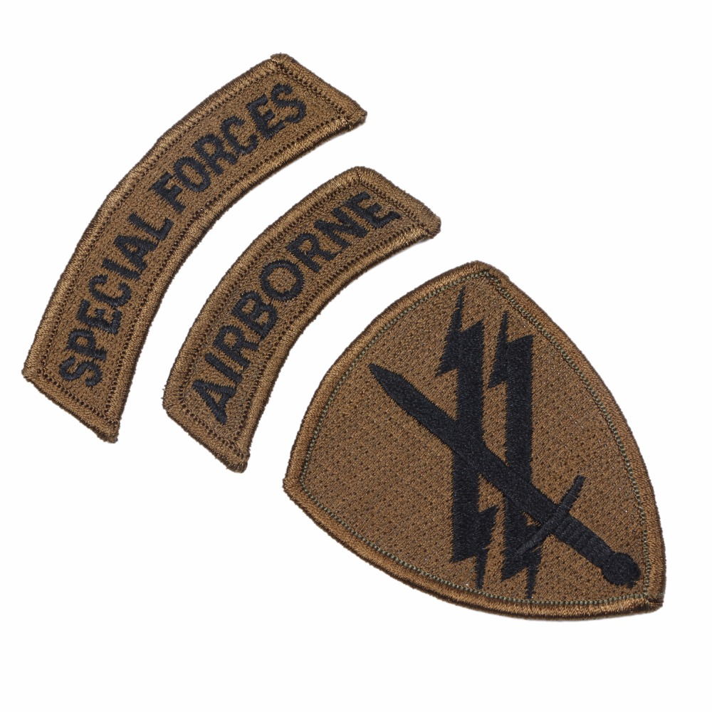 US ARMY SPECIAL FORCES AIRBORNE ARMBAND PATCH