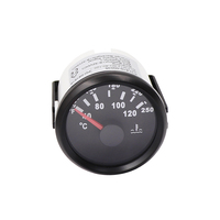 2'' 52 mm Motorcycle temperature gauge Digital Water Temp Meter for Car Auto 40~120 Degree 12V 24V
