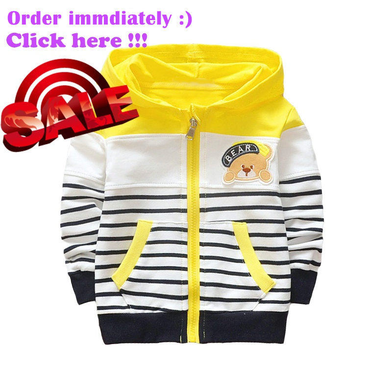 e4891df6318b new spring autumn baby clothes boys girls hoodie cotton stripe ...