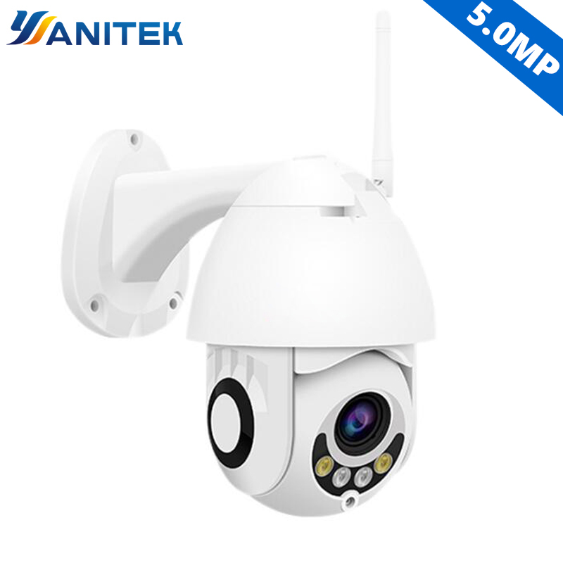 H 265 5MP 4X Zoom ONVIF Wireless PTZ Outdoor P2P Dome 3MP 2MP IP Camera WiFi