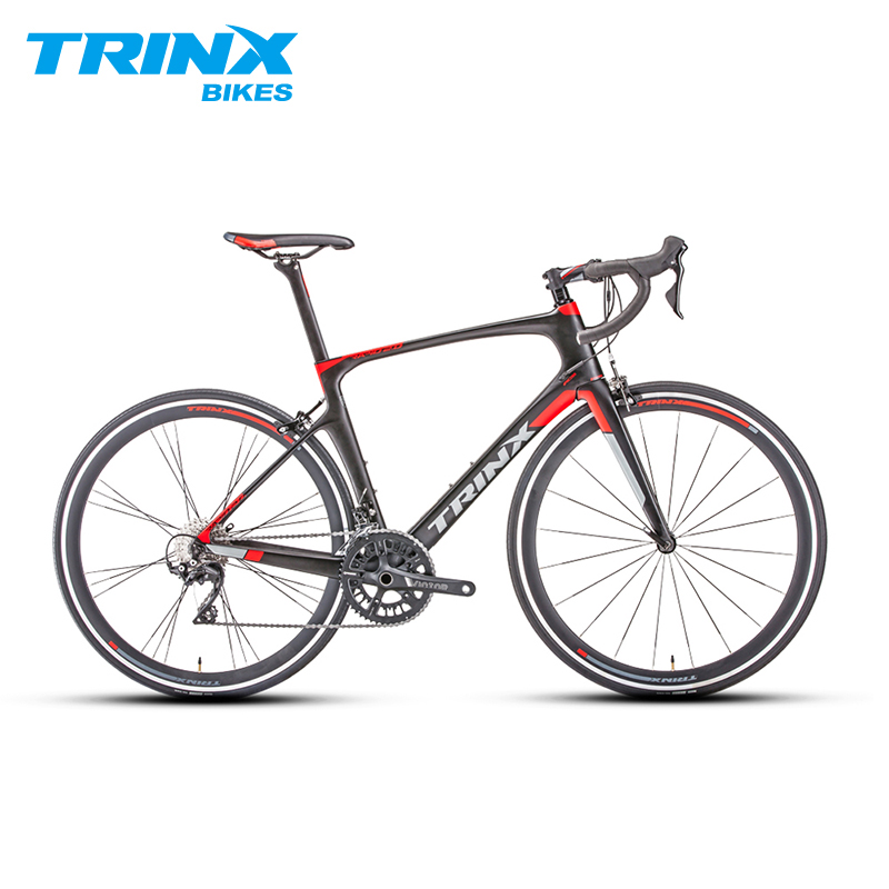 Carbon Fiber Road Bike >> Us 2390 0 Trinx 22 Speed Carbon Fiber Road Bike Aero Racing Bicycle 105 Derailleur Set Caliper Brakes Compact Frames Bicicletta In Bicycle From