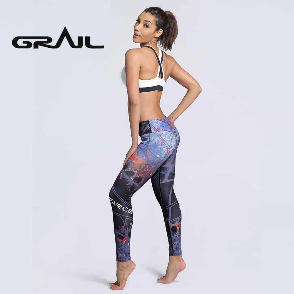 caa0be02061f3 ... New Sexy Training Women's Sports Yoga Pants Leggings Elastic Gym  Fitness Workout Running Tights Compression Trousers ...