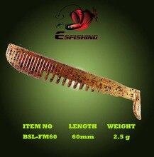 Fishing Lure Soft Bait 10pcs Leurre Souple 6cm/2.5g FLK Minnow 2.4″ Esfishing Artificial Bait Swimbait Iscas Tackle