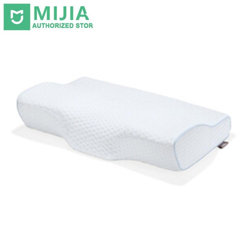Xiaomi 8 H H2 бабочка дизайн памяти подушка шеи Защита от бактерий медленный отскок памяти хлопок подушка здравоохранения Ортопедическая