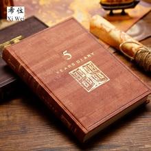 Three Years Five Diary Hand Book A5 Calendar Notebook Notepad Journal