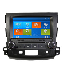 8″ Car DVD GPS Navigation For Mitsubishi Outlander Citroen C-Crosser Peugeot 4007 2007 2008 2009 2010 2011 2012 with RDS Ipod