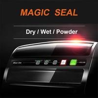 Household MS1160 Convenient Vacuum Food Sealer Dry Wet Food Storage with Vacuum Bags Film Sealer Vacuum Sealing Machine