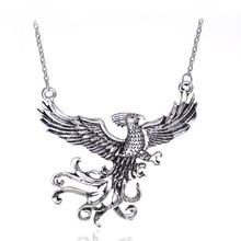 Dongsheng moda filme jóias dumbledore animal de estimação phoenix fawkes pingente pássaro imortal phoenix colar moda presente para os fãs-30