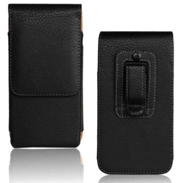 Belt Clip PU Leather Waist Holder Flip Pouch Case for ZTE Speed N9130/Rapido LTE Z932L/Majesty Z796C/Source N9511 4.5 Inch