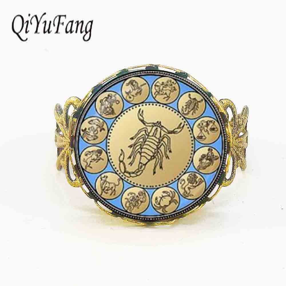 New Handicraft Scorpio Ring Jewelry Zodiac Sign ...