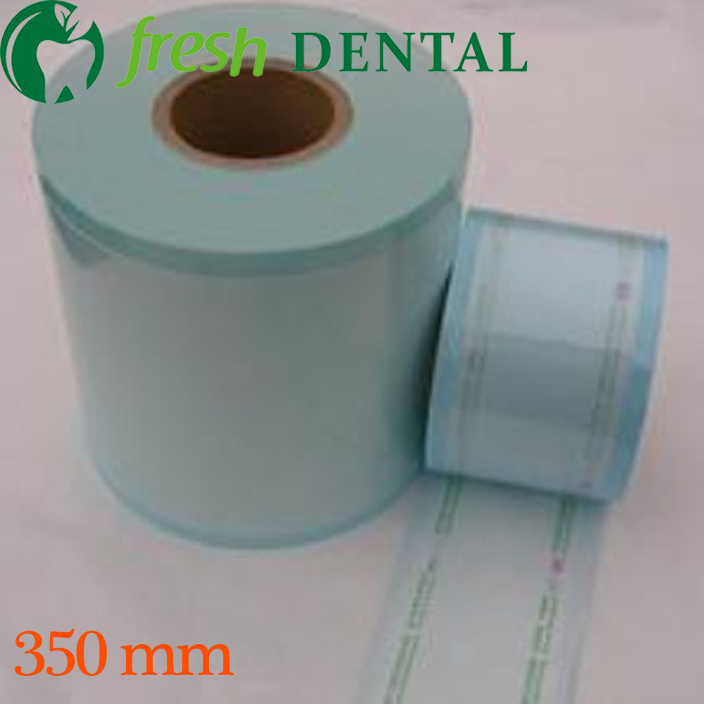 Dental 35cm*200M disinfection sterilization bags roll bags of sterile medical sterilization bags dental materials SL428 dental sterilization box for gutta percha root canal file high speed bur disinfection box dental tool box disinfection box sl308
