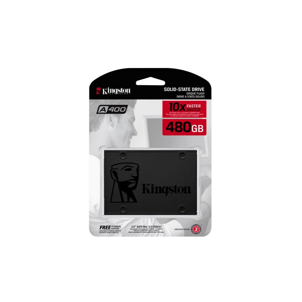 Kingston Internal Storage 480 GB,Incredible speeds plus rock-solid, 2.5inch, Serial ATA III, 500 MB/s, 6 Gbit/sKingston Internal Storage 480 GB,Incredible speeds plus rock-solid, 2.5inch, Serial ATA III, 500 MB/s, 6 Gbit/s