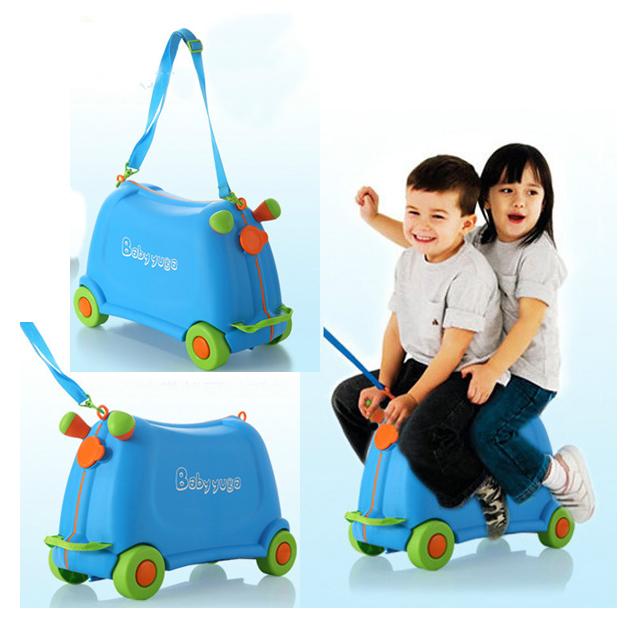 Online Shop Kids Luggage 2 in 1 Travel Suitcase Girls Boys Kids ...