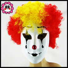2016 Halloween Party Masquerade Clown Masks Fancy Venetian Woman Mask Bauble Hand Painting Full Face Stage Prop Toy in stock