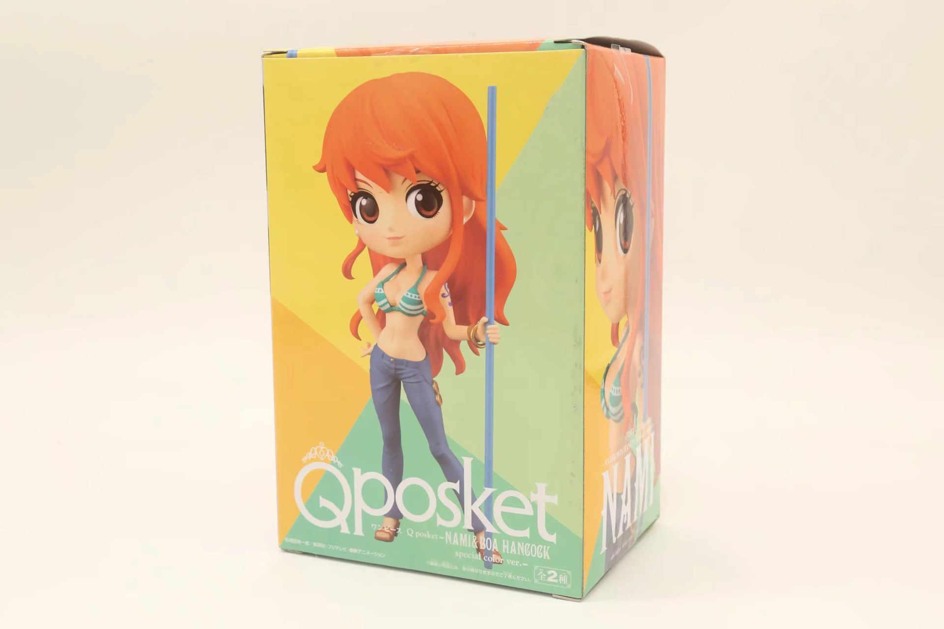 QPosket Bonito do Anime One Piece Nami Figura Modelo Brinquedos 15 centímetros
