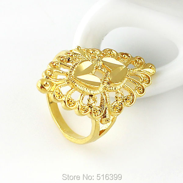 line Shop Kayshine New Gold Color Flower Ring Hot Sale Bijoux