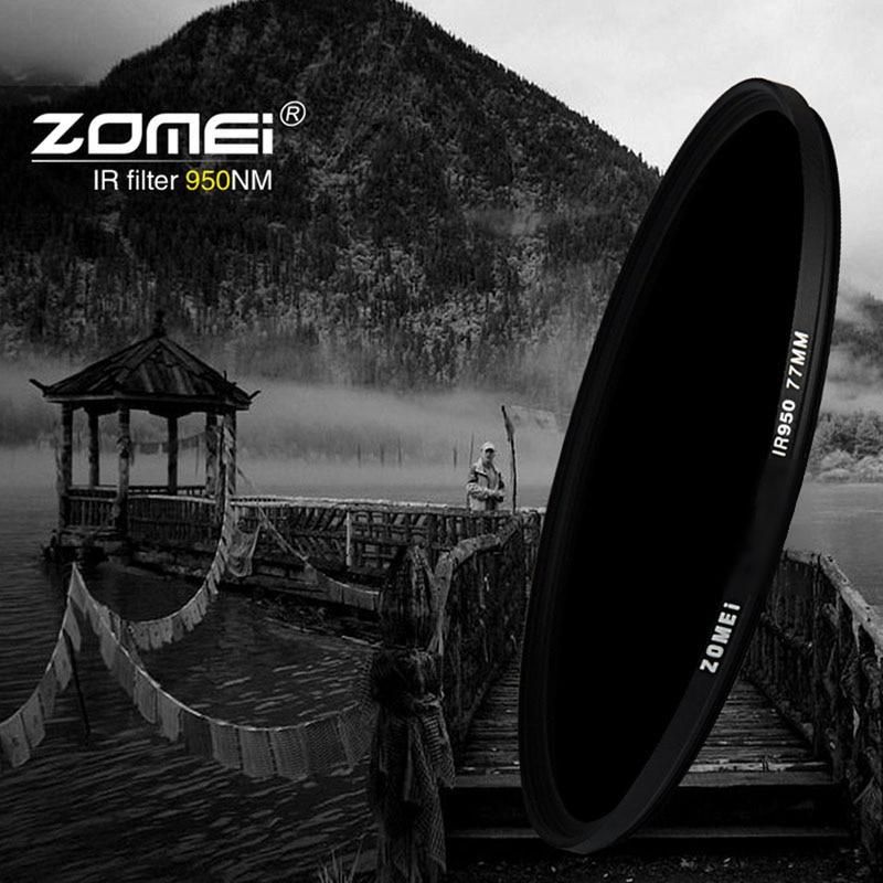 Zomei 49/52/55/58/62/67/72/77/82 IR-filter 680NM 720NM 760NM 850NM - Camera en foto - Foto 6