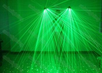 Hoge Kwaliteit Groene Laserhandschoenen 2 Stuks 532nm Lasermodule 40 Laserstralen Pro Hand Laser Podium Handschoenen Voor DJ