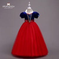 Muababy Snow White Princess Dress For 5T 16T Children Girl S Cosplay Costume Kids Girl Clothing