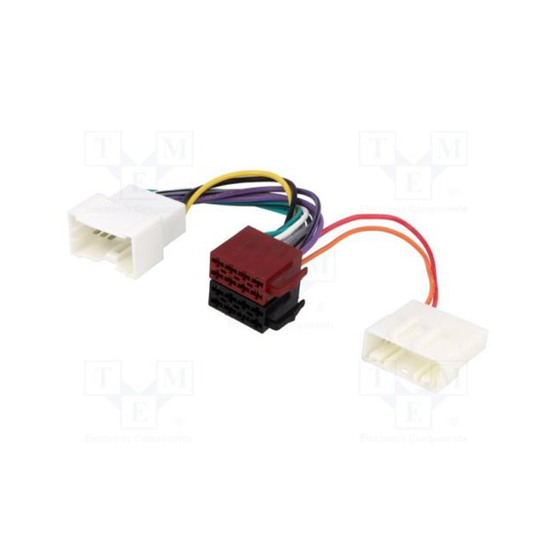 New Car Iso Wiring Harness Lead Loom Connector Adaptor For Renault Twingo Megane Master Scenic