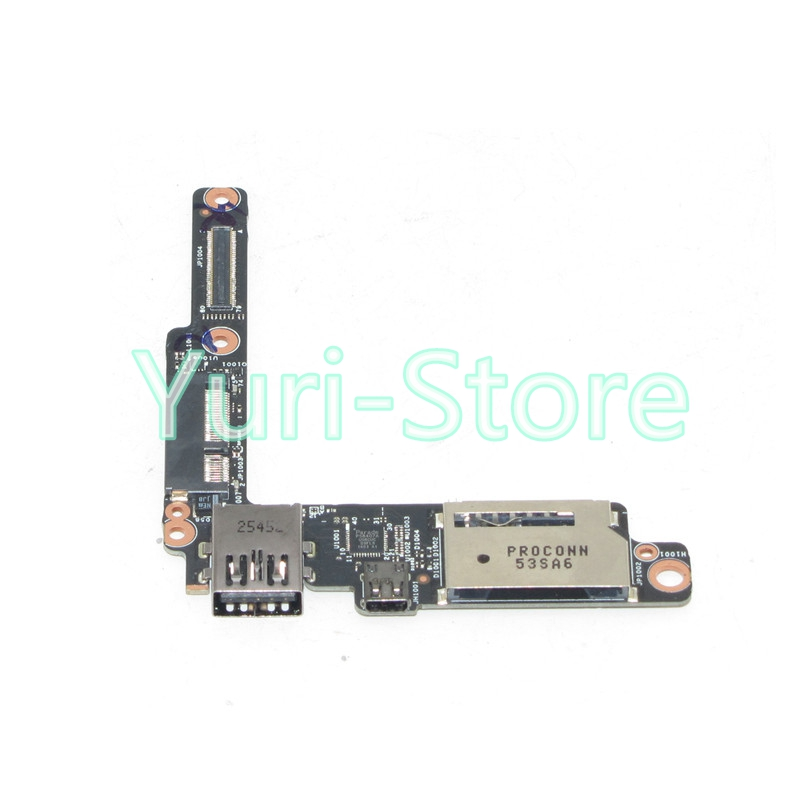 NOKOTION for LENOVO YOGA 3 PRO 1370 USB HDMI SD CARD READER BOARD AIUU2 NS-A321 genuine original audio usb board for lenovo yoga 2 pro 13 series ns a071 rev 2 0 kona svt