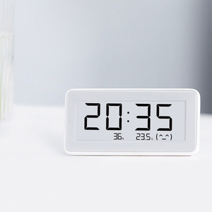 Image 5 - 100% Xiaomi Mijia BT4.0 Wireless Smart Electric Digital clock Indoor Hygrometer Thermometer E ink Temperature Measuring Tools