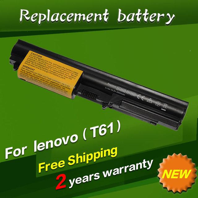 "Jigu batería del ordenador portátil para lenovo thinkpad r400 t400 r61 t61 t61p r61i t61u series (14.1 ""widescreen) T61 7660 T61 6480 R61 7733"