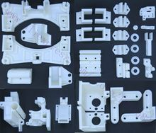 Updated, Reprap Wilson TS 3D Printer Updated Printed Parts Kit +Extruder Direct Drive Plastic Parts Kit Free Shipping