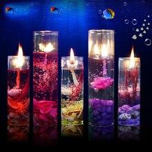 1 шт. океанские раковины валентинки ароматизированные желе свечи для ароматерапии бездымные художественные свечи аксессуары для украшения дома инструменты для рукоделия
