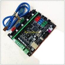 MKS GEN L V1.0 3D printer board control panel mainboard diy starter kit support a4988 8825 tmc2100 lv8729 tb6600 dual extruder