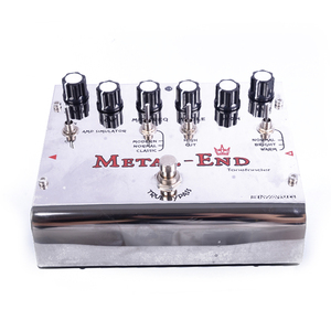 Image 5 - Biyang Tonefancier Metal End King Distortion Electric Guitar Effect Pedal True Bypass Design with Gold Pedal Connector