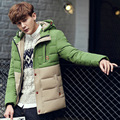 2015 Winter Jacket Men 90% White Duck Down Jacket Coat Parka Detachable Fur Hooded Casual Warm Outwear Men Winter Jacket Parkas