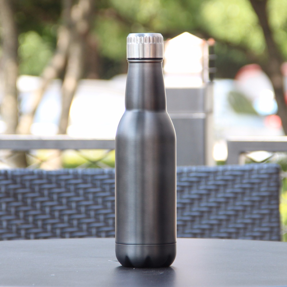 500ml Creative thermos stainless steel Vacuum insulation thermos water bottle Cola Bottle fashion wine beer termos in Vacuum Flasks Thermoses from Home Garden