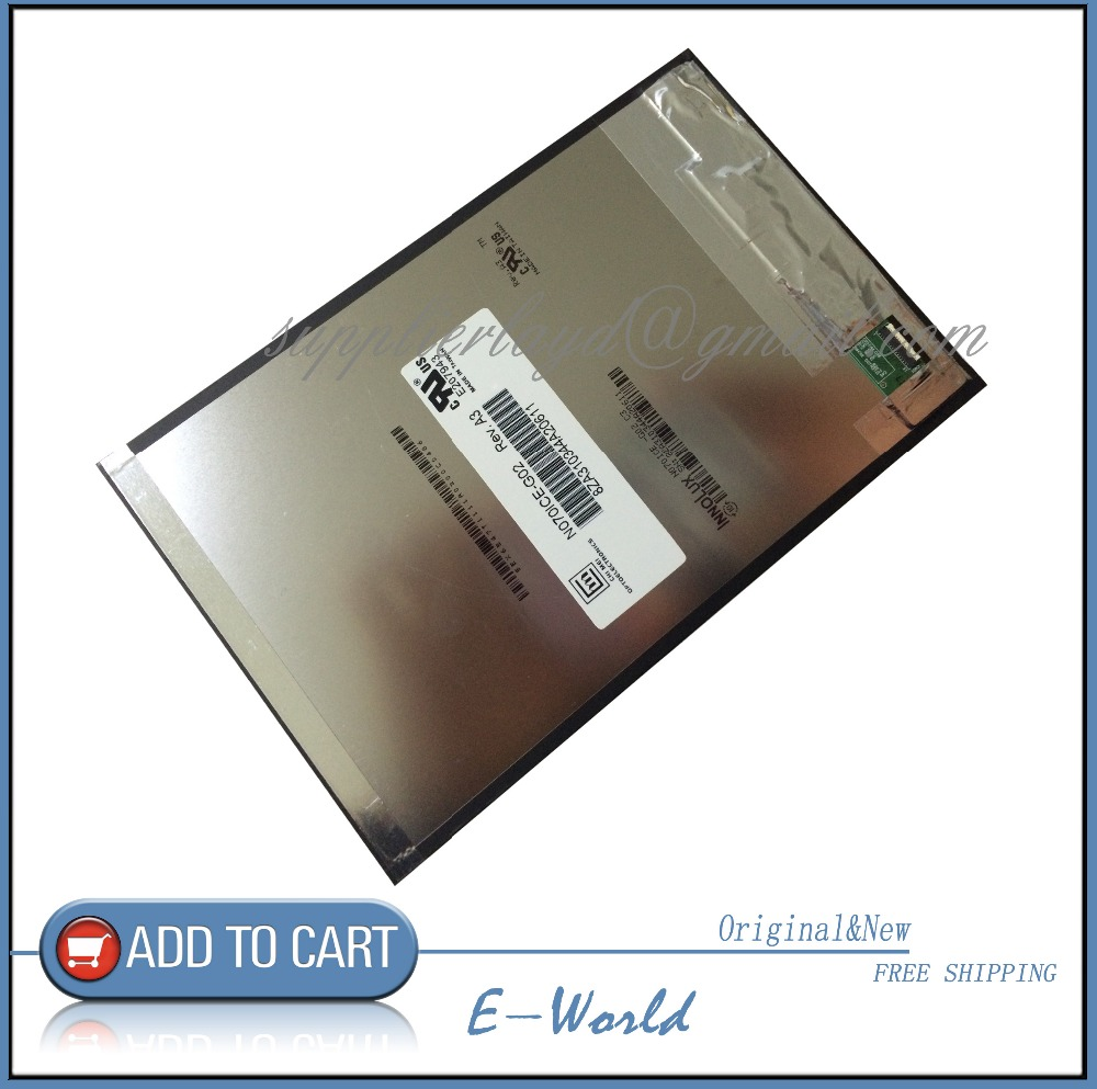 Original and New 7inch LCD screen N070ICE G02 A3 for tablet pc free shipping