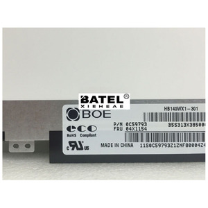 """Image 2 - For BOE HB140WX1 301 LED Screen LCD Display Matrix for Laptop 14.0"""" HD 1366X768 30Pin Matte Replacement"""