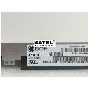 Image 2 - Écran LCD de remplacement, matrice pour ordinateur portable 301 pouces HD 1366X768 30Pin, pour BOE HB140WX1 écran LED 14.0